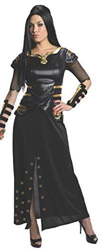 Frank Miller's 300 Kriegerin Artemisia Kostüm - 300 Die Entstehung eines Königreichs - schwarz/gold - Small