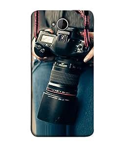 PrintVisa Designer Back Case Cover for Microsoft Lumia 650 :: Microsoft Lumia 650 Dual SIM (Person Photograph Illustration Technology Equipment Zoom Film)