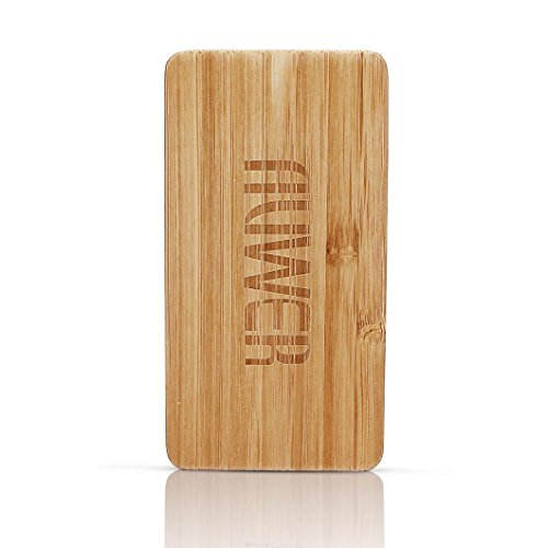 Yukong Auwer 4000mAh legno naturale caricatore Ultra Portable Battery Power Bank Ultra-Compact batteria esterna per iPhone iPad Samsung Galaxy maggior parte di smartphone