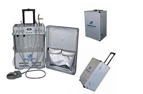 bonew Tragbares Dental Einheit mit Air Kompressor Ultraschall-Scaler (LED Lichthärtungsgerät 4H