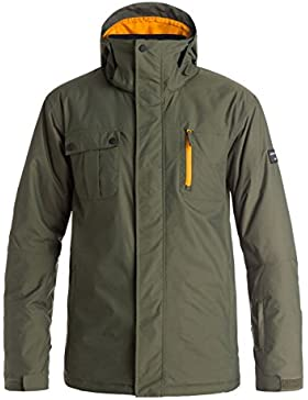 Quiksilver - Mission Solid, color forest night, talla L