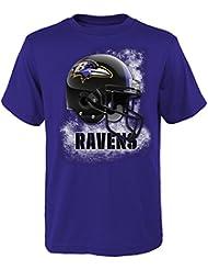 "Baltimore Ravens Jeunesse Youth NFL ""Smash Mouth"" Short Sleeve T-Shirt"