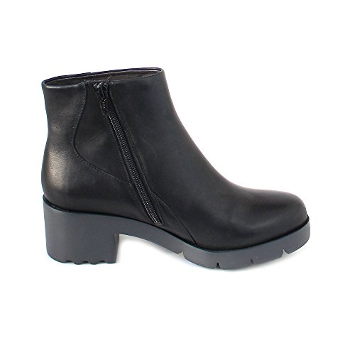 Camper Womens Wanda 400228 Leather Boots Black