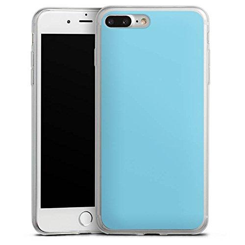 Apple iPhone 8 Slim Case Silikon Hülle Schutzhülle Türkis Blau Grün Silikon Slim Case transparent