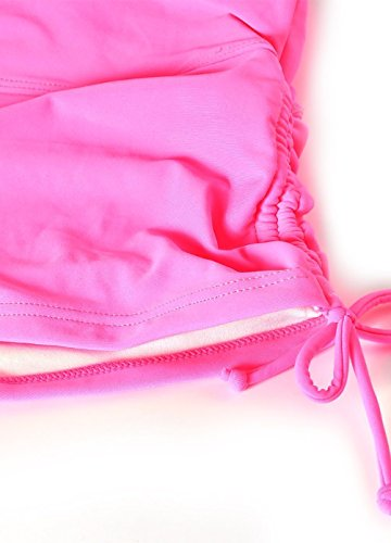 Costumi da bagno Donna Pantaloni Regolabile Costume a Pantaloncino da NuotoTraspirante Pantaloncini da Surfe Rosa caldo