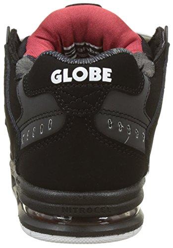 Globe Sabre, Scarpe da Skateboard Uomo Multicolore (Black/red)