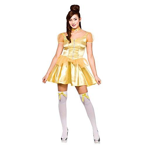 Beautiful Princess (short) Ladies Fancy Dress Costume Halloween