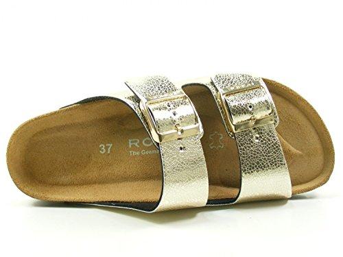 Rohde Alba 5616 Tongs Femme gold