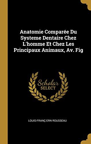 Anatomie Comparée Du Systeme Dentaire Chez l'Homme Et Chez Les Principaux Animaux, Av. Fig par Louis-Franc Ern Rousseau