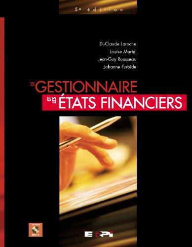 Gestionnaire & les Etats Financiers 5ed