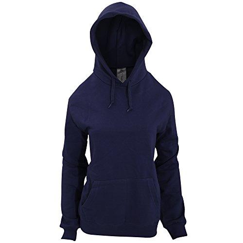 B&C - Sweatshirt à capuche - Femme Noir