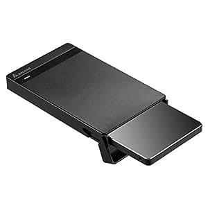 """SALCAR 2,5 Pouces USB 3.0 Disque Dur SSD Boîtier, Case, Adaptateur 9.5mm 7mm Disque Dur 2.5"""" SATA SSD USB 3.0 Câble, sans Outil"""