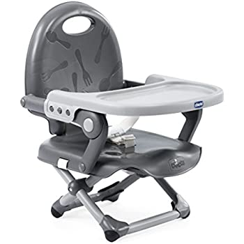 Portable Travel High Chair Travel Booster Baby Seat Grey  QFix