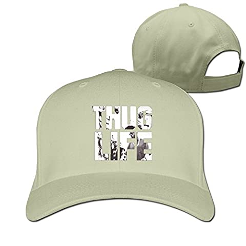YSC-Dier Thug Life Baseball Hat By Cnlowter Natural