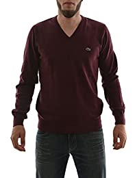 pull hiver lacoste ah0347 rouge