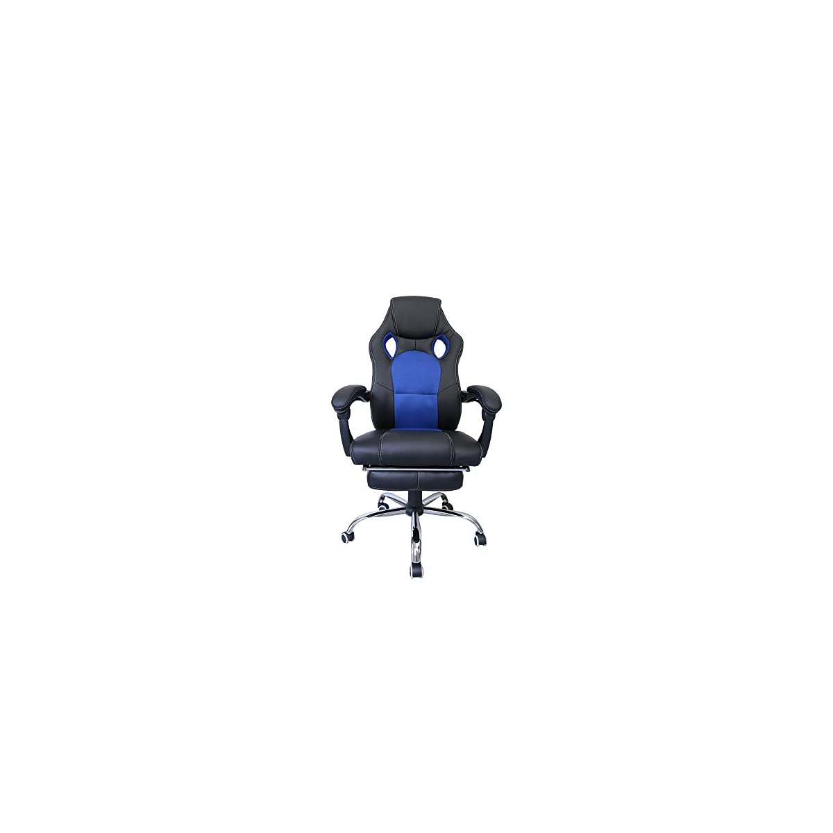 41cJj1ctdcL. SS1200  - huigou HG® Silla Giratoria De Oficina Gaming Chair Apoyabrazos Acolchados Premium Comfort Silla Racing De Carga Altura Ajustable