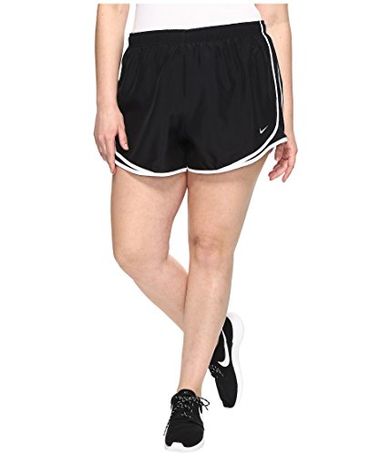ning Short Size 2X Black/Black/White/Wolf Grey Womens Shorts ()