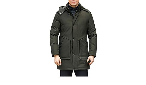 Clearance Sale [XL 4XL] ODRDτ Giacca invernale da uomo con