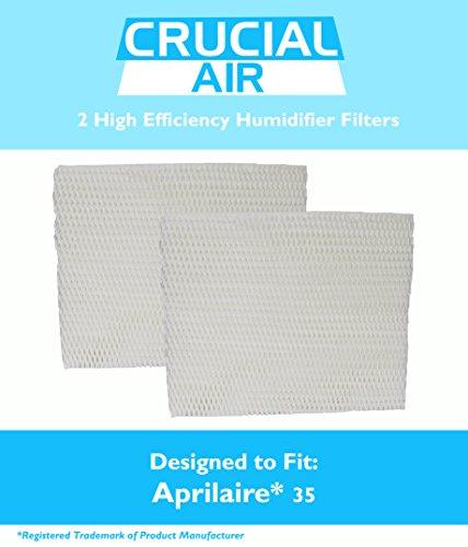 Unbekannt 2aprilaire 35Papier Wick Luftbefeuchter Wasser Pad-Filter passt 350, 360, 560, 560A, 568, 600, 700, 760, 760A, 768(35), entworfen und hergestellt von Crucial Air (Wasser-wicking-filter)