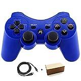 Gollec Wireless Telecomando Gamepad per PS3Playstation 3Double Shock con Cavo di Ricarica USB