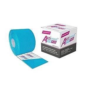 Aktimed TAPE PLUS – 1 Stück – patentiertes Physio-Tape für kinesiologisches Taping – mit pflanzlichen Extrakten – in 6 Farben verfügbar