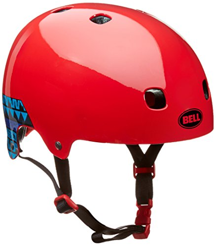 Bell Kinder Helm SEGMENT Jr. 16 PF urban Fahrradhelm, red paul frank graf, S