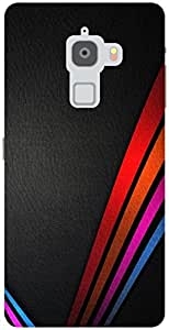 The Racoon Grip neon stripes hard plastic printed back case / cover for Letv Le Max