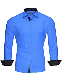 Kickdown - Camisa casual - Clásico - para hombre