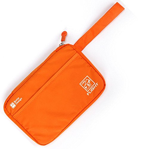 BRG315 Multifunktions Paßhalter Pass Paket Orange