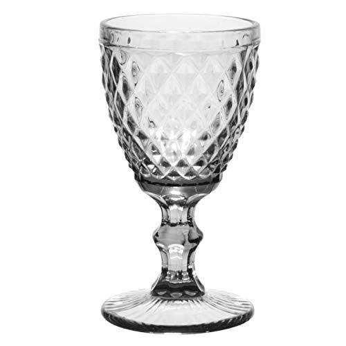 Table Passion - Verre à pied diamant 22.5 cl transparent (lot de 6)