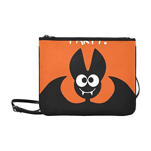 ty Idee Festlich Gedruckte Produkte Benutzerdefinierte hochwertige Nylon Slim Clutch Crossbody Tasche Umhängetasche ()
