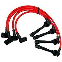 VMS Racing iginition Bujía Cables en rojo para Nissan Sentra SR20DE ga16de 919293949596979899199119921993199419951996199719981999
