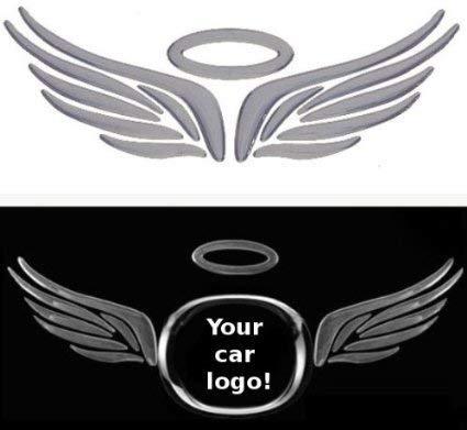 Angel (Flügel und Halo) Chrom-Effekt Aufkleber für Auto-Abzeichen