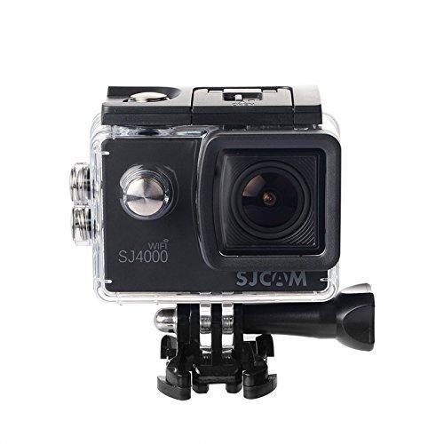 Originale SJCAM SJ4000WiFi Action Camera sport DVR impermeabile 30m all' aperto videocamera casco bicicletta moto fotocamera (nero)