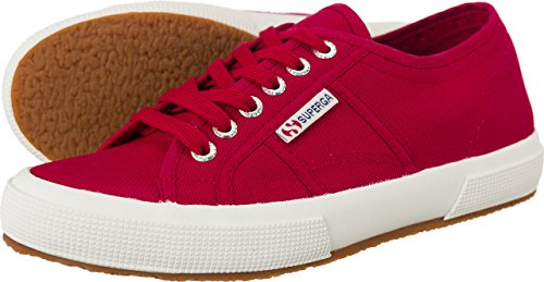 Superga 2750 Cotu Classic, Baskets mixte adulte RED CERISE