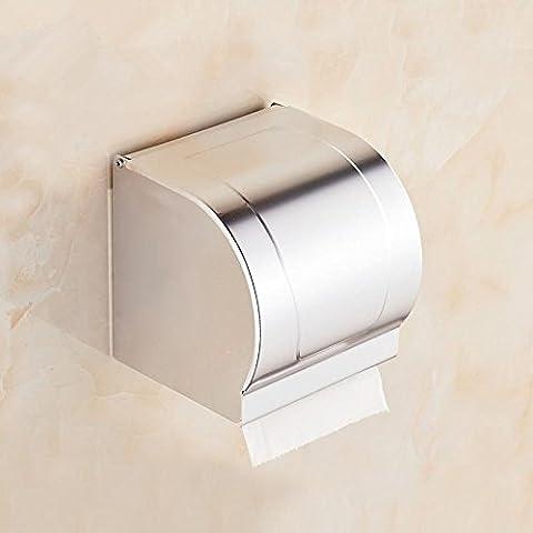 RRJH Supporto carta alluminio spazio toilette igieniche vassoio vassoio di