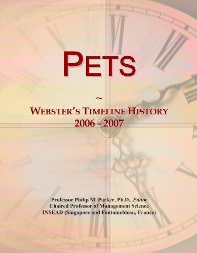 Pets: Webster's Timeline History, 2006-2007