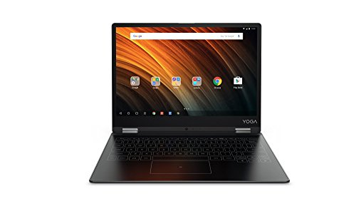 Lenovo YOGA A12 30,99cm (12,2 Zoll HD IPS Touch) 2in1 Tablet (Intel Atom x5-Z8550 Quad-Core, 2GB RAM, 32GB eMMC, Android 6.0, 720P Kamera, Dolby Atmos) anthrazit