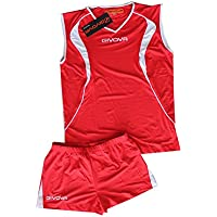 Givova Kit Vuelo Volley Rojo %2Fbianco Talla 3XL
