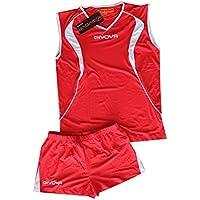 'Givova Fußball Kit Flight volleyball-red/weiß Größe 2 X L