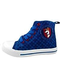 pets - Zapatillas de baloncesto de Lona para niño azul azul