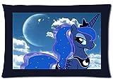 Hot Sale Custom Princess Luna My Little Pony Zippered Pillow Case 20x30 (Twin Sides Print)