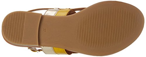 Inuovo 7295, Tongs Femme Gelb (Yellow-Gold)