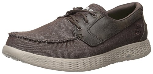 Skechers On The Go Glide Chocolate 53770CHOC, Scarpe da barca Marron