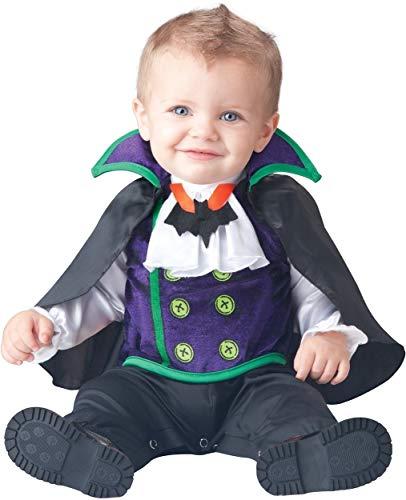 Jungen Anzahl Cutie Vampir Charakter Halloween Kostüm Kleid Outfit - Schwarz, Schwarz, 12-18 Months, 6-12 Months ()