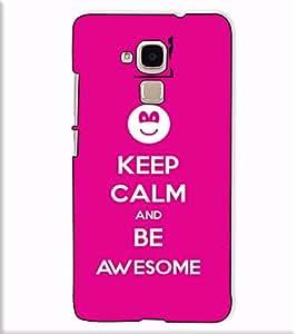Fuson Designer Back Case Cover for Huawei Honor 5c :: Huawei Honor 7 Lite :: Huawei Honor 5c GT3 (Keep calm theme)