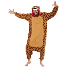 Fleece Pijama Kigurumi - Leopardo