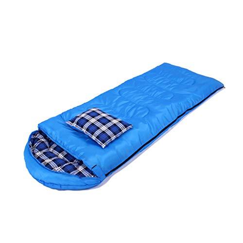 Sac de couchage LCSHAN Polyester Adulte Camping Voyage Étanche à l'humidité Épais Chaud vers Le Bas Coton