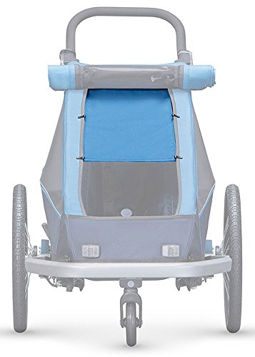 Croozer Kid Plus for 2 Sonnenschutz Ocean Blue Modell 2018