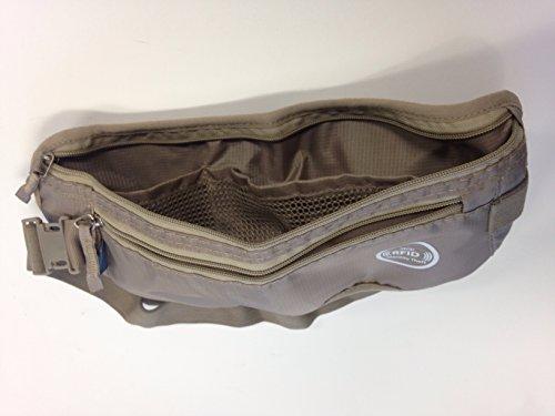"ORB Travel-MB225 sicurezza Koruma-Cintura portasoldi, Ultra sottile, motivo: ""Undercover denaro al sicuro"